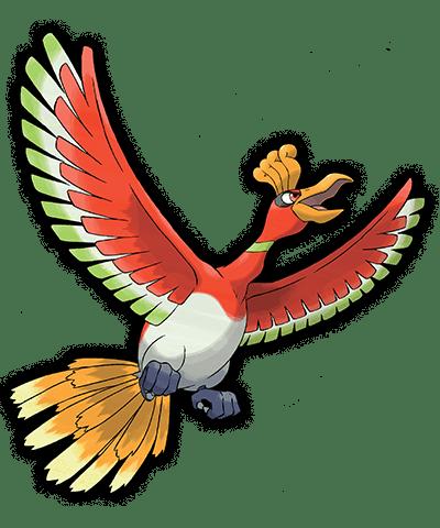 Ho Oh Pokemon Rubi Omega Zafiro Alfa 00