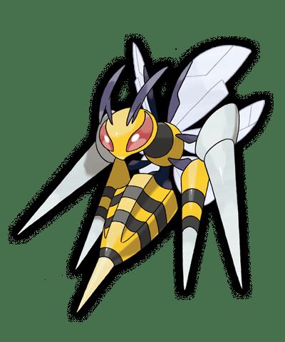 Mega Beedrill Pokemon Rubi Omega Zafiro Alfa 00