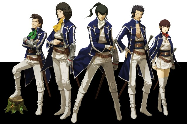 Shin Megami Tensei IV characters