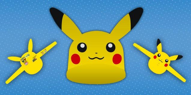 Viseras Pikachu salon manga barcelona