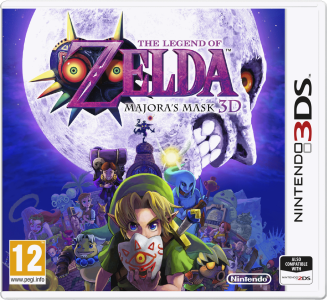 The Legend of Zelda Majoras Mask 3DS PAL Cover