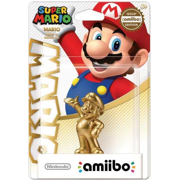 Amiibo Mario gold
