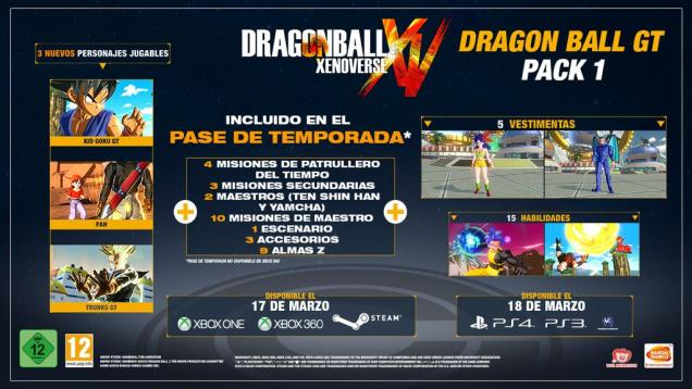 Dragon Ball Xenoverse DLC pack 1