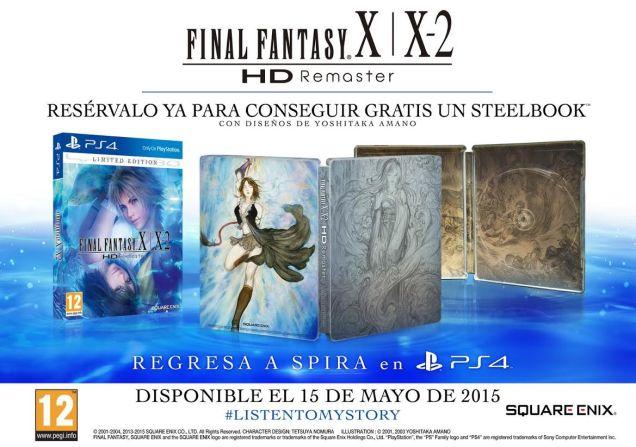 Final Fantasy X X2 HD PS4 PAL