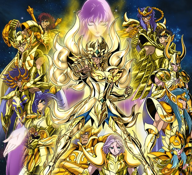 Saint Seiya Soul of Gold arte