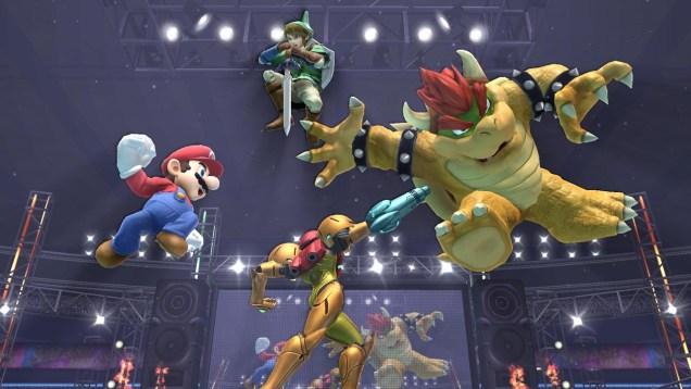 Super Smash Bros munecos