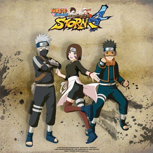 Rin Obito Kakashi Naruto SUN Storm 4