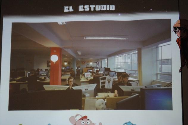 Y aquí es donde trabajan actualmente, junto a un gran equipo de personas.