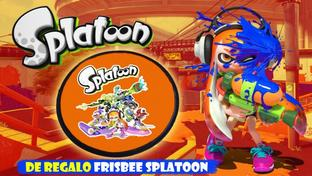 Splatoon Frisbee