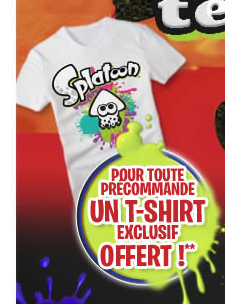 Splatoon camiseta