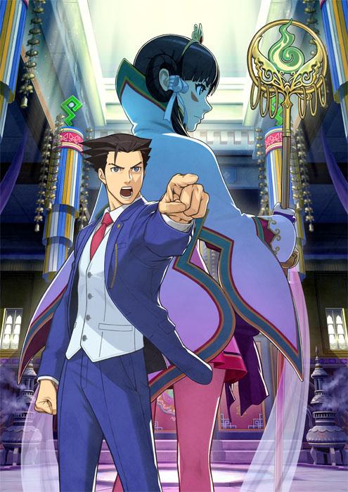 Ace Attorney 6 arte