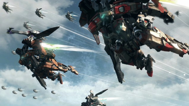 Xenoblade Chronicles flying