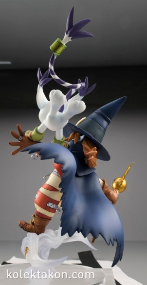 Wizardmon Gatomon figura GEM 3