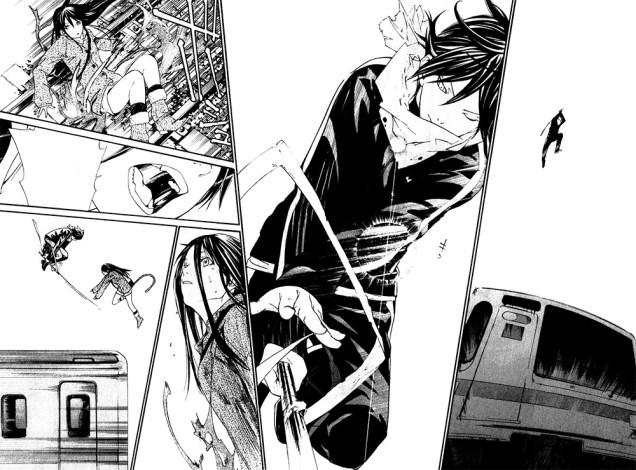 Páginas de Noragami, manga de Adachitoka