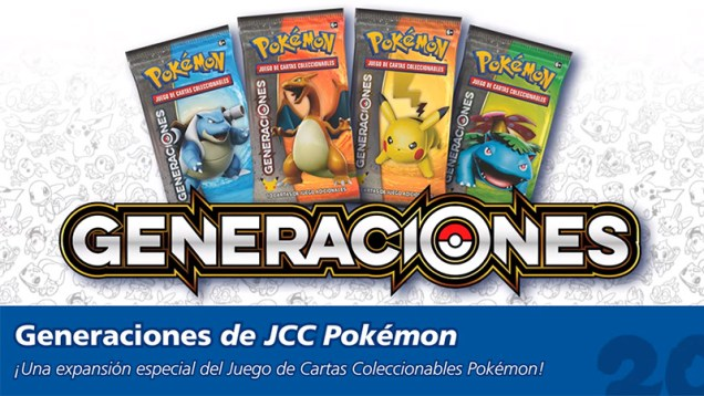 Pokemon JCC Generaciones