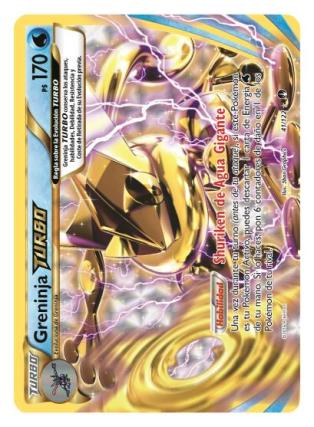 Pokemon TCG Greninja Turbo Turbolimite