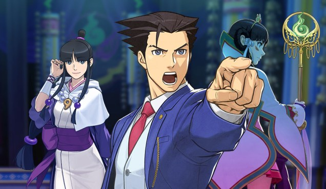 Ace Attorney 6 collage