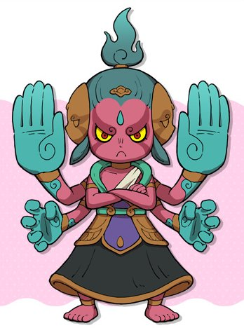 Asura Yo kai Watch