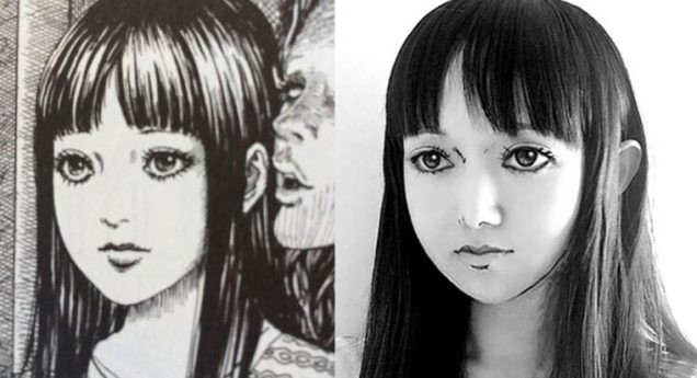 Ikura cosplay Junji Ito 13