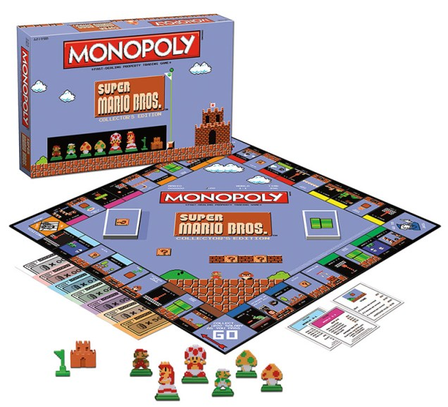 Monopoly Super Mario Bros colleccionista 02