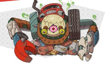 Robot Basura Yo Kai Watch