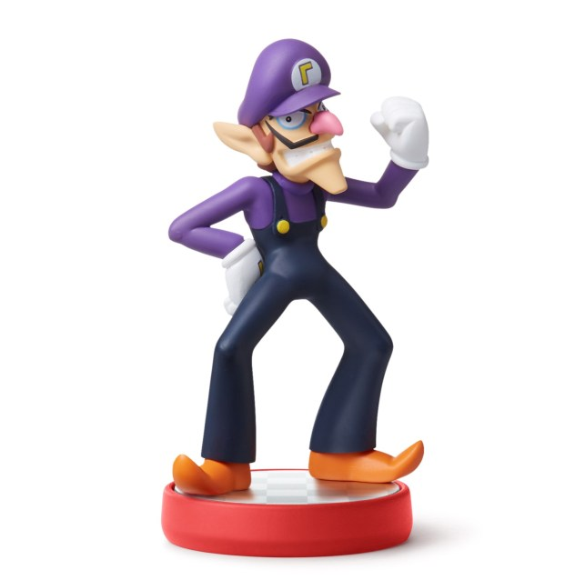 amiibo Waluigi Super Mario