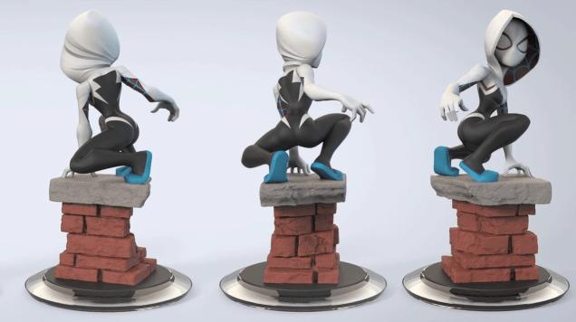 Disney Infinity Spider Gwen 2