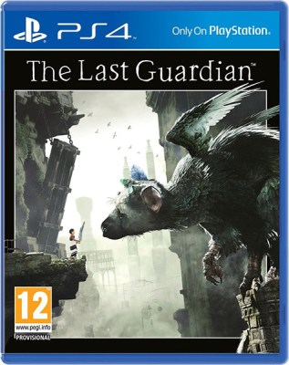 The Last Guardian PS4 PAL Cover