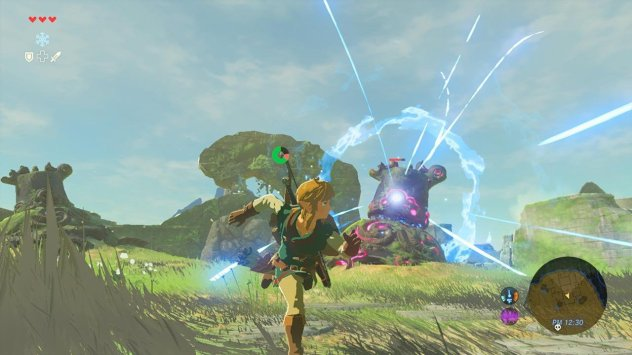 The Legend of Zelda Breath of the Wild gameplay 01