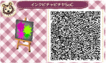 Animal Crossing New Leaf Splatoon QR Code 19
