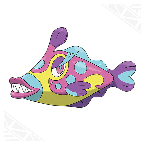 Bruxish Pokemon 1