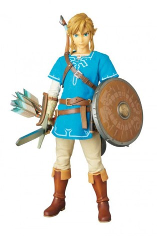 Link figura Breath of the Wild - Medicom - 06