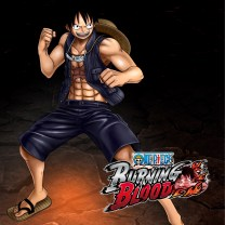 luffy gold one piece burning blood