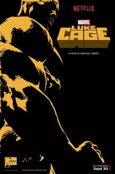 Luke Cage Netflix póster