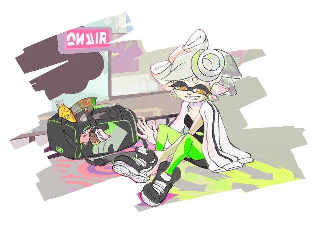 Tina Splatoon splatfest