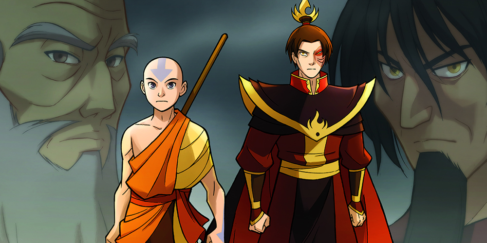 avatar the last airbender the promise header