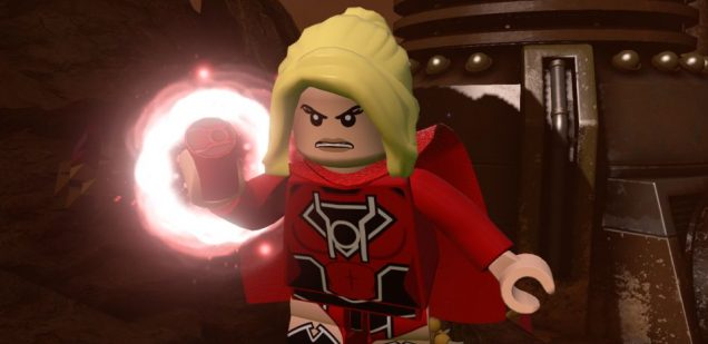 LEGO Dimensions Supergirl Red Lantern
