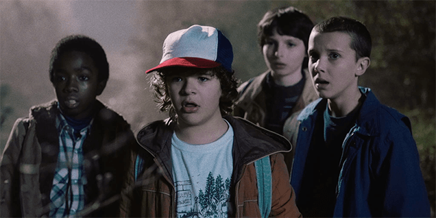 Stranger Things niños