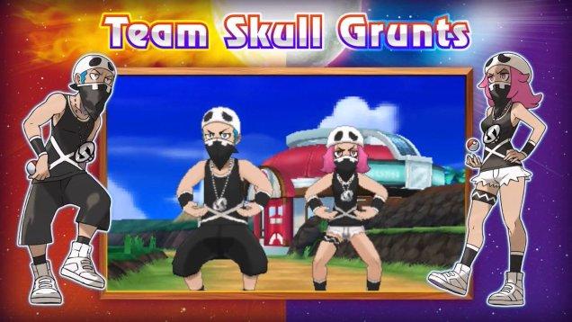 Team Skull Grunts Pokemon