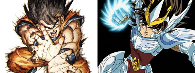 Dragon Ball - Saint Seiya