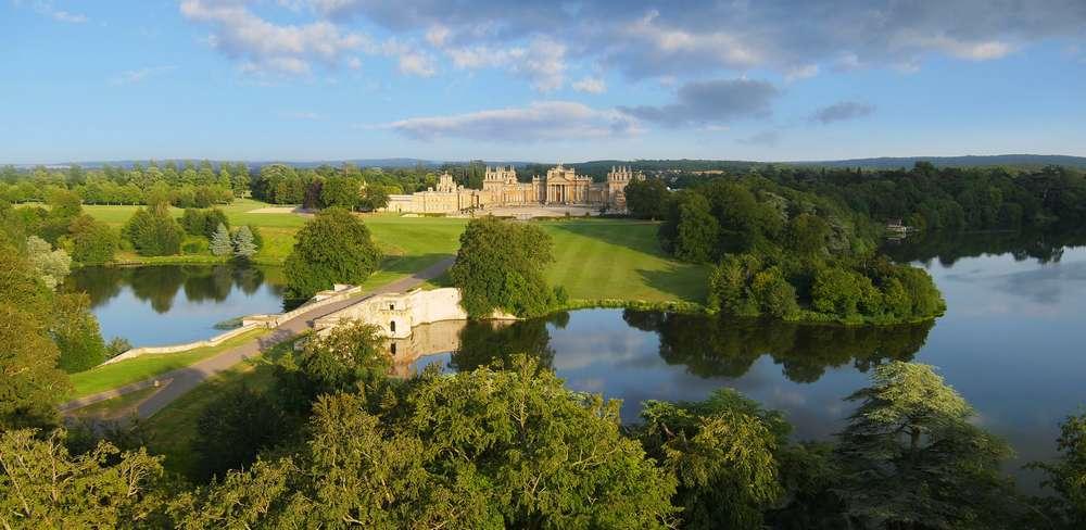 Blenheim Palace Formal Gardens Oxford