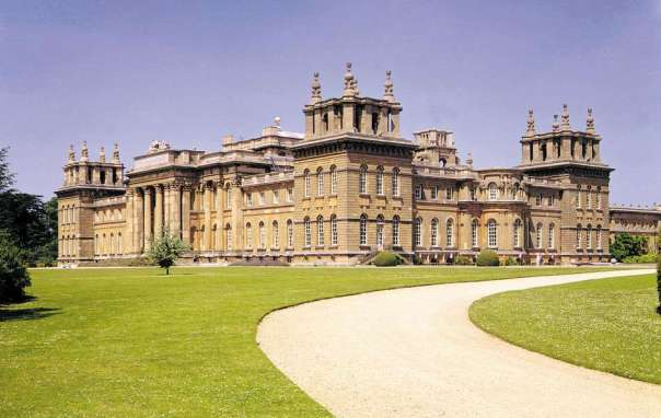 Blenheim Palace Home to the Duke of Malborough