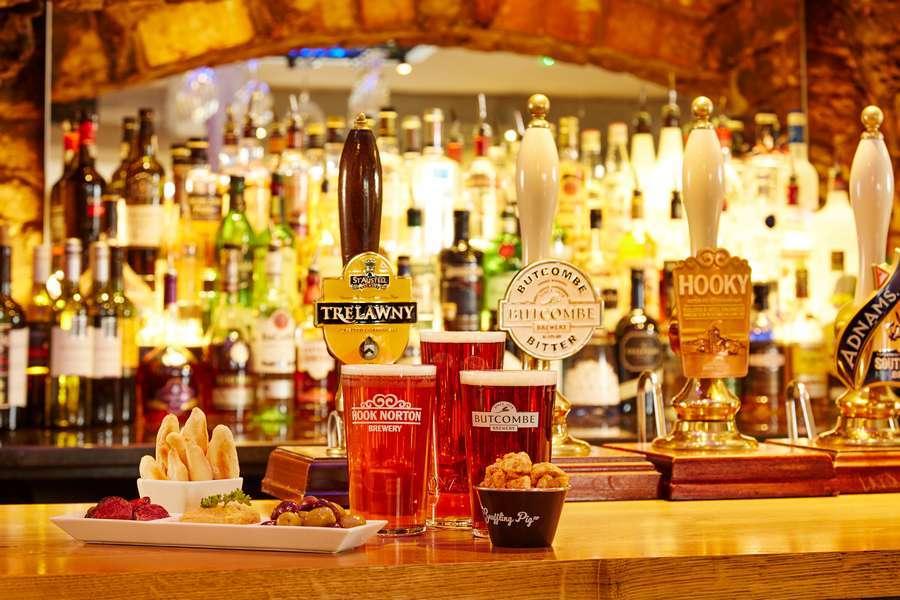 Deddington Arms Hotel Back Bar
