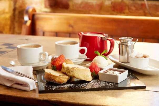 Tea & Scones at our Deddington Restaurant Oxfordshire