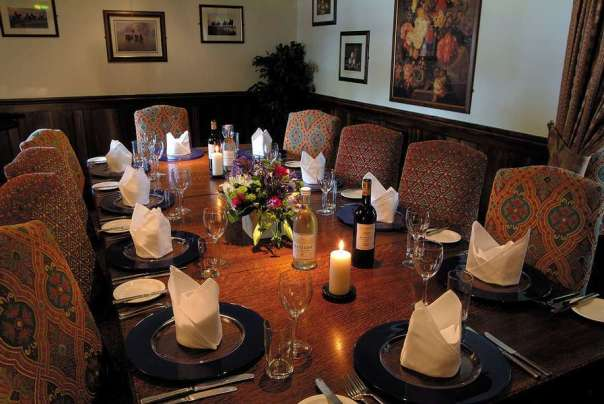 Deddington Arms Hotel Oxfordshire Private Dining