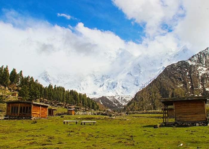 Bayal camp Nanga Parbat Fairy Meadows