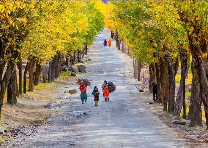 Road to Skardu GIlgit Baltistan