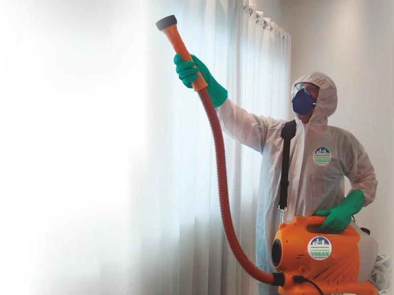 Aplicação de Sanitização para o Covid-19 (Coronavírus)