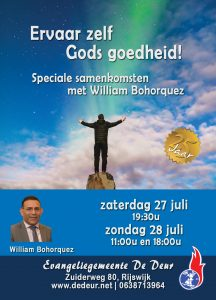folder speciale diensten met William Bohorquez