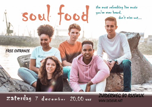 flyer SoulFood concert